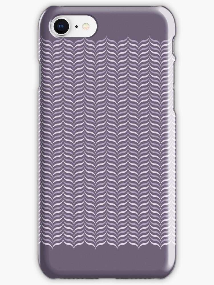 Purple Humbug Candy Case by mulu