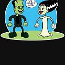 Frankenstein: We Belong Dead by clockworkmonkey