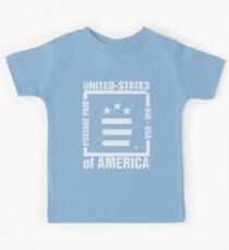 Postage Paid USA Kids Tee