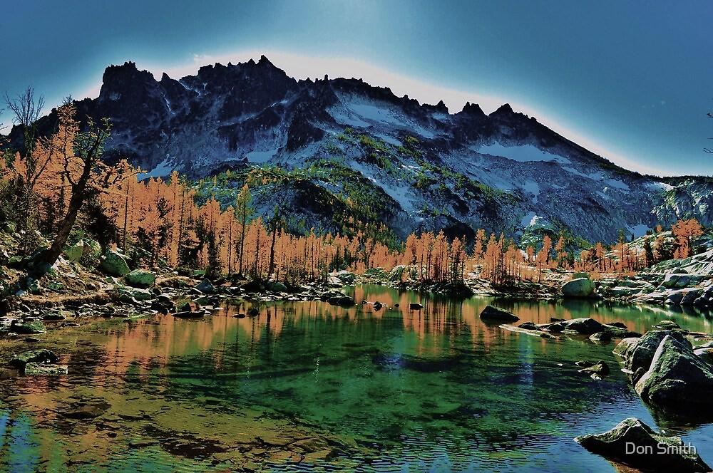 enchantmen lakes by Don Smith