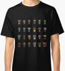A History of Megazords Classic T-Shirt
