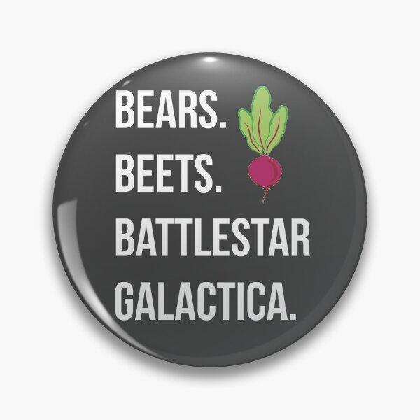 Bears. Beets. Battlestar Galactica. - The Office Pin