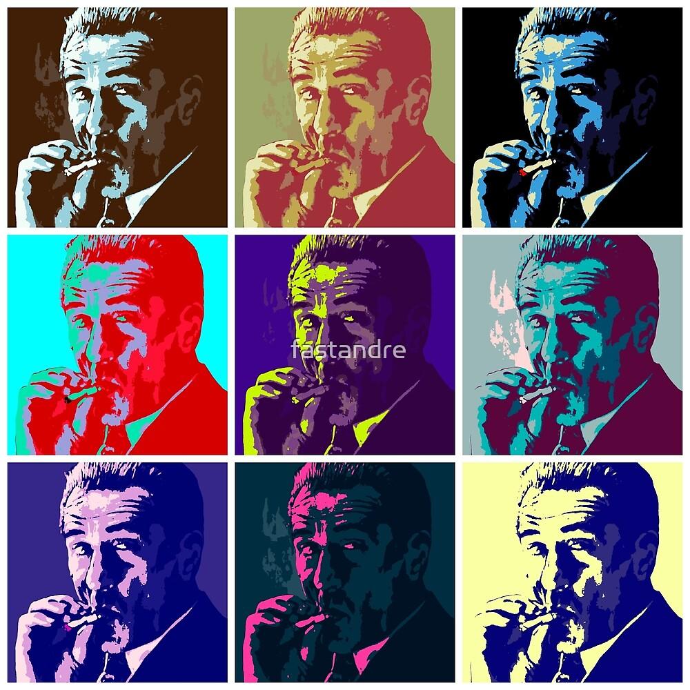 Robert De Niro Jimmy Conway Goodfellas Pop Art Warhol by fastandre