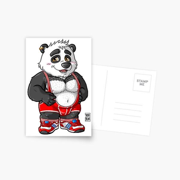 CHUNKY PANDA - BEARZOO SERIES Postcard