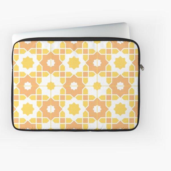Portuguese Azulejos - Yellow Palette Laptop Sleeve
