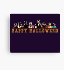Greendale Halloween (Season 2) - Happy Halloween Canvas Print