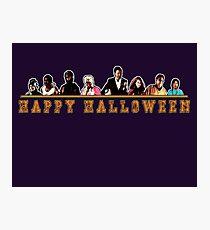 Greendale Halloween (Season 2) - Happy Halloween Photographic Print