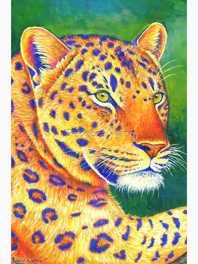 Queen of the Jungle - Colorful Leopard by lioncrusher