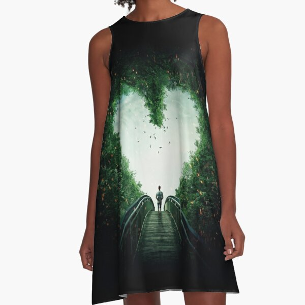 follow your heart A-Line Dress