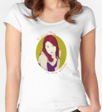 Felicia Day is My Queen Women's Fitted Scoop T-Shirt
