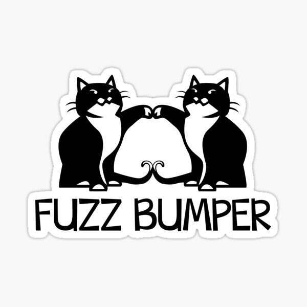 Fuzz Bumper - Design 2 Sticker