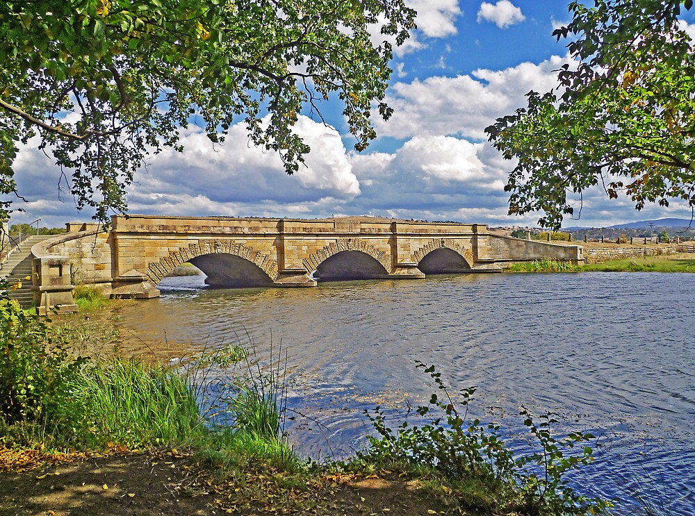 Ross Bridge from the East Bank by TonyCrehan
