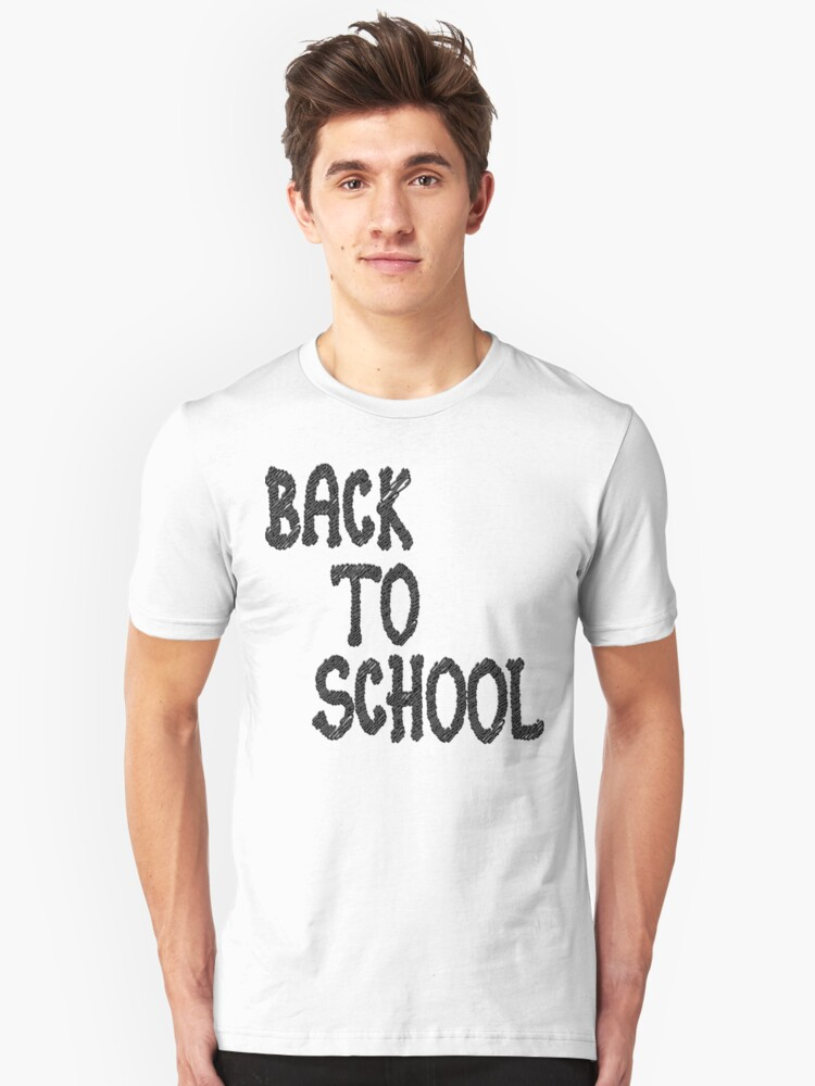 Back to school Unisex T-Shirt Front
