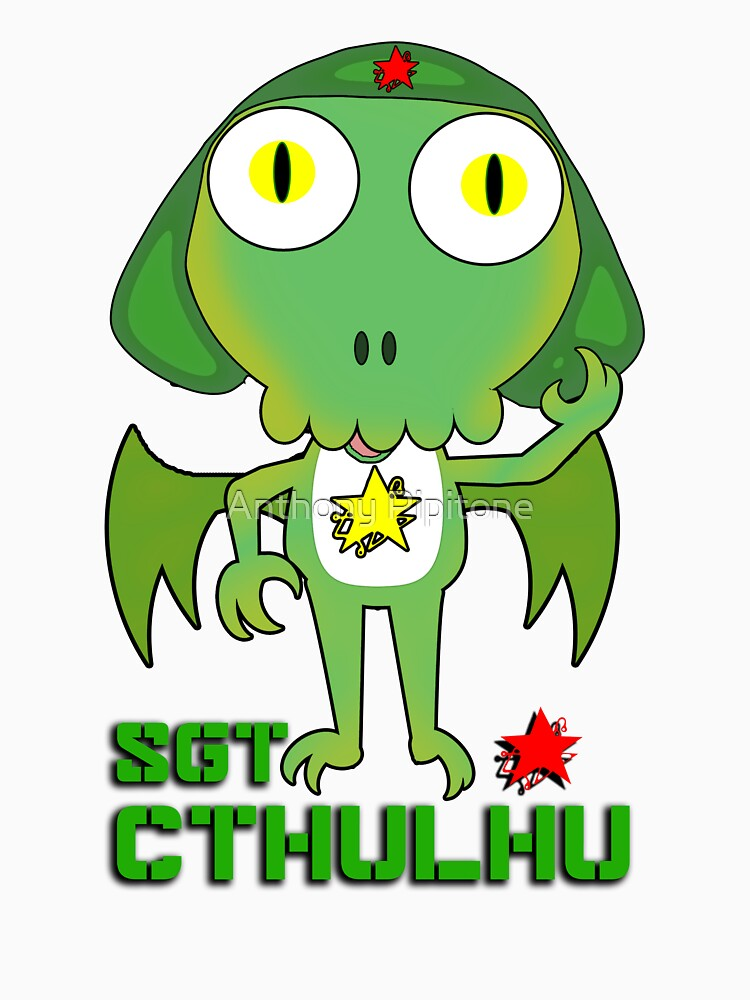 Sergeant Cthulhu (English version) by AnthonyPipitone