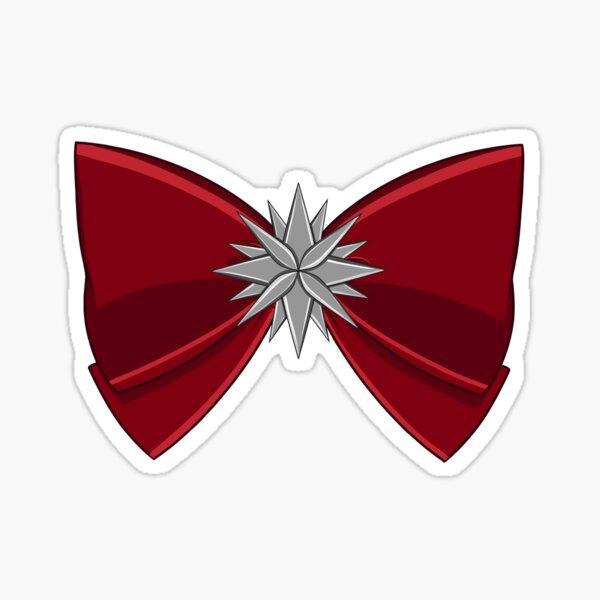 Sailor Saturn - Red Bow Sticker