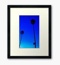 Venice Beach Palm Trees Framed Print