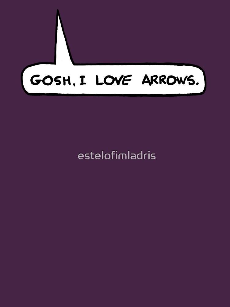 Gosh I Love Arrows | Unisex T-Shirt