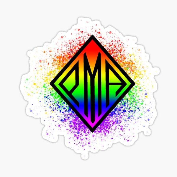 PMA Rainbow Pride Colors Sticker