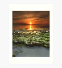 """Greenfield Sunrise"" ∞ Vincentia, NSW - Australia Art Print"