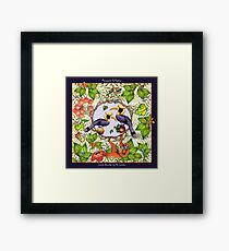 Jungle Acrobat by Ro London - Menagerie Collection Framed Print