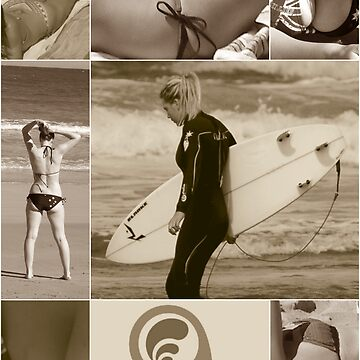 T.S.E. surfer girls by TSEclothing