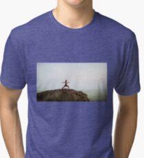 Yoga 7 Calendar Tri-blend T-Shirt
