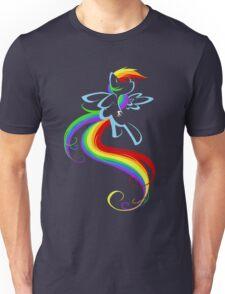 Flowing Rainbow Unisex T-Shirt