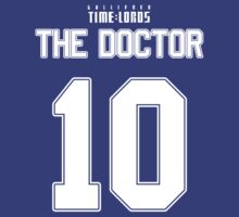 Team Tennant (The Doctor Team Jersey #10)