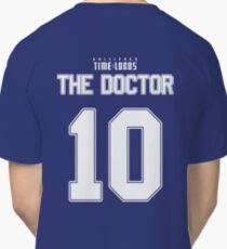 Team Tennant (The Doctor Team Jersey #10) Classic T-Shirt