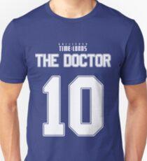 Team Tennant (The Doctor Team Jersey #10) Unisex T-Shirt