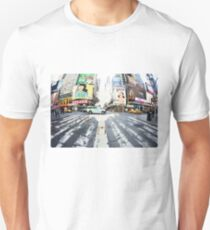 Yoga in Times Square, New York T-Shirt