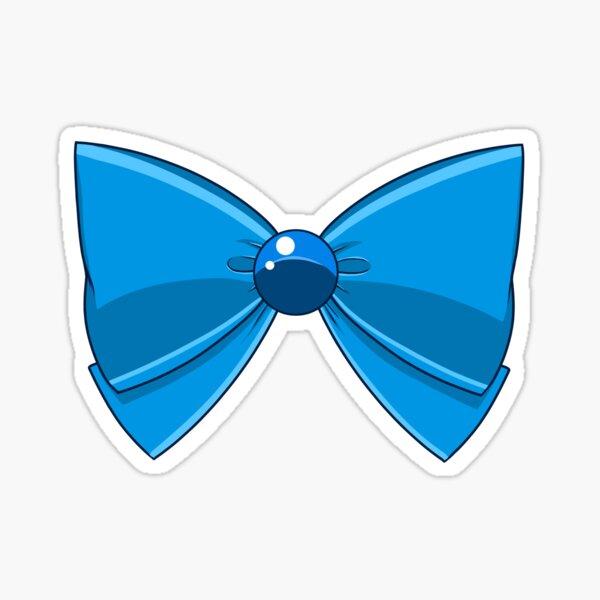 Sailor Mercury - Blue Bow Sticker