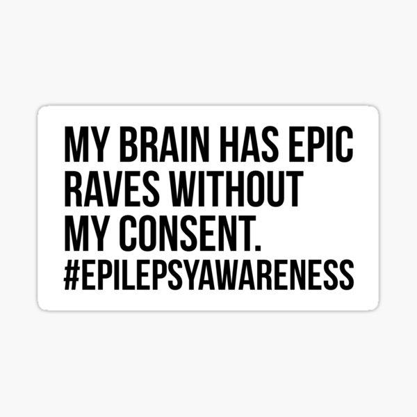 Epilepsy Awareness Sticker