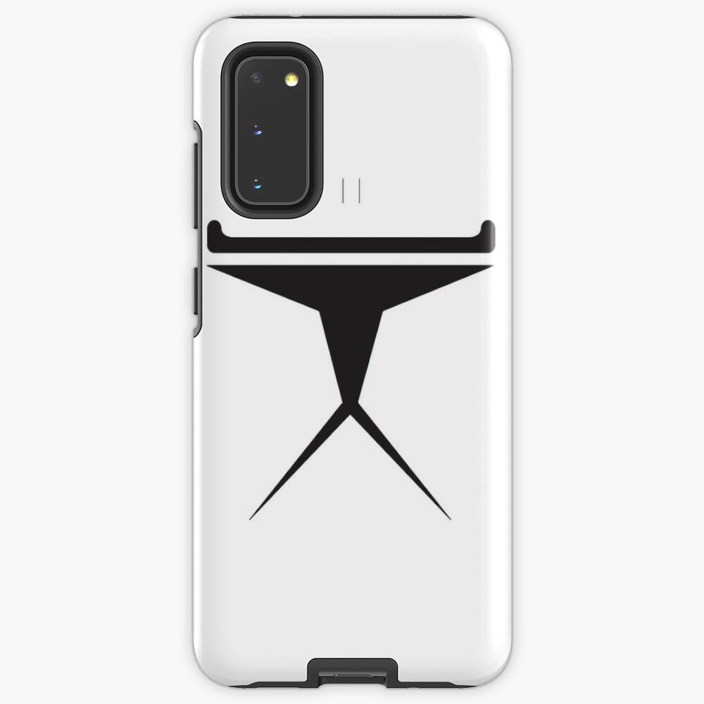 Minimalist Clone Trooper Case & Skin for Samsung Galaxy