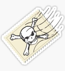 postage stamp Sticker