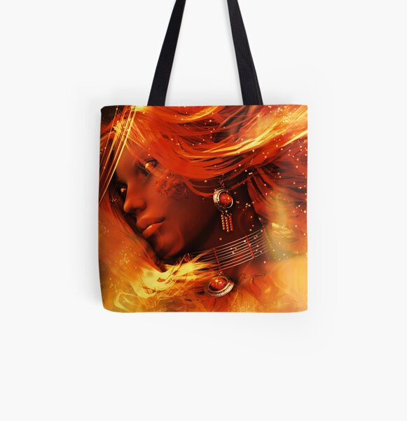 Inferno All Over Print Tote Bag