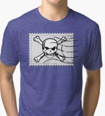 postage stamp Tri-blend T-Shirt