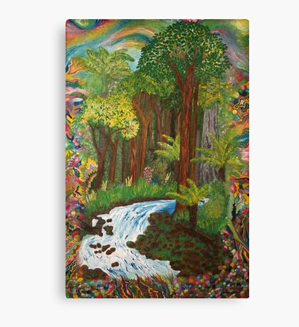 Rainforest - vivid Canvas Print