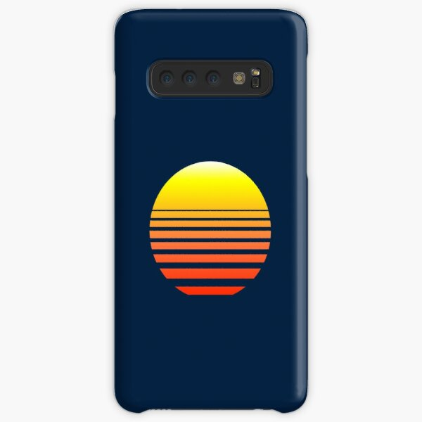 Synthwave Sunset Samsung Galaxy Snap Case