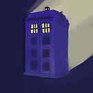 TARDIS by iliketrees