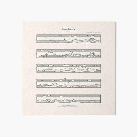 Soundscape Art Board Print