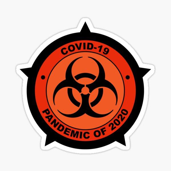 Covid-19 Pandemia de 2020 Pegatina