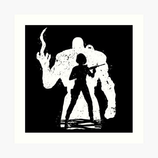 Nemesis X Jill - white Art Print