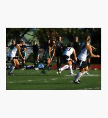 100511 221 0 water color field hockey Photographic Print