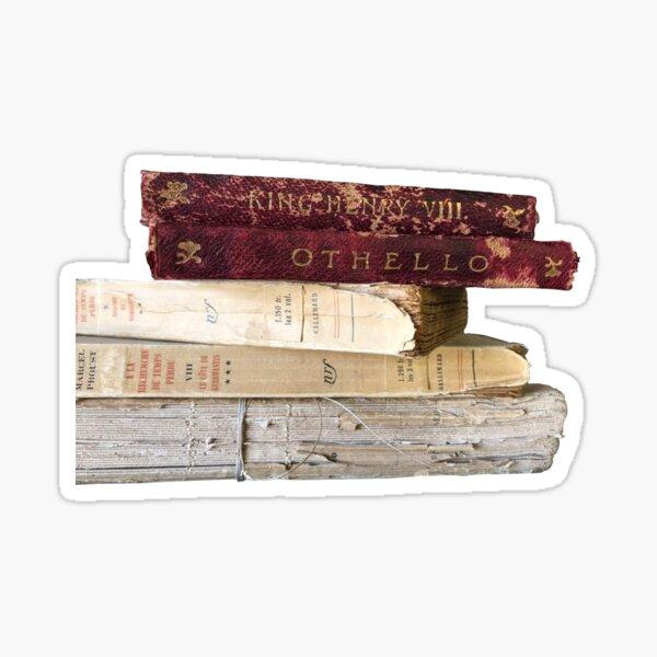 Livres - Dark Academia Sticker