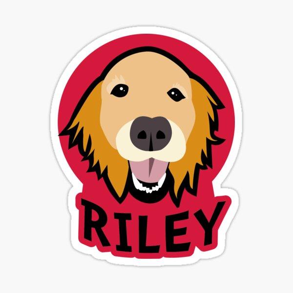 Boyfren Riley! Sticker