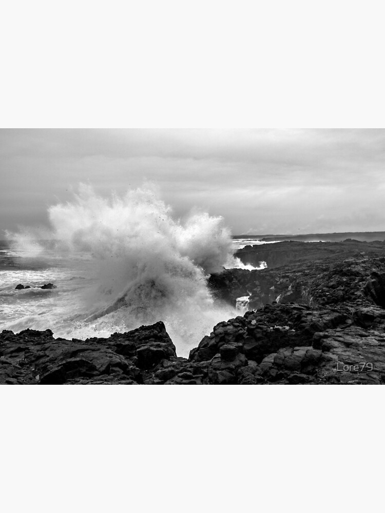 Big coastal storm at Reykjanes peninsula  by Lore79