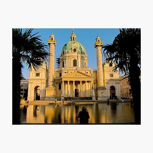 Karlskirche, Vienna Photographic Print