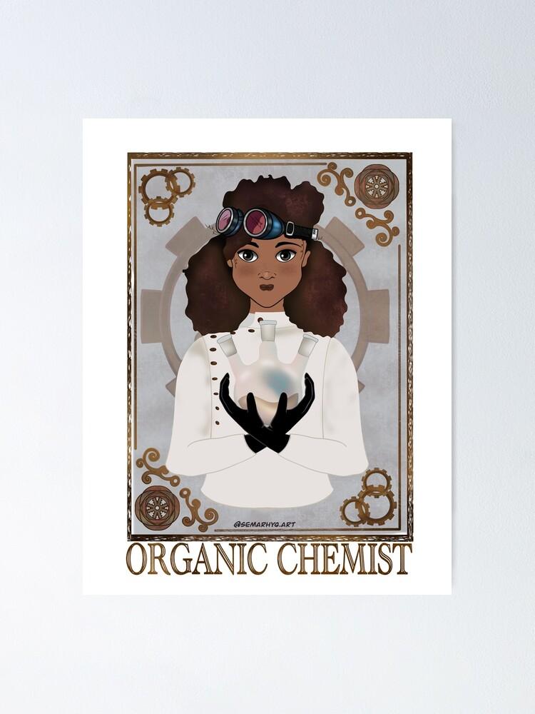 Alternate view of The Organic Chemist (Steampunk art) Poster