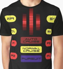 Knight Rider KITT Car Dashboard Graphic Graphic T-Shirt